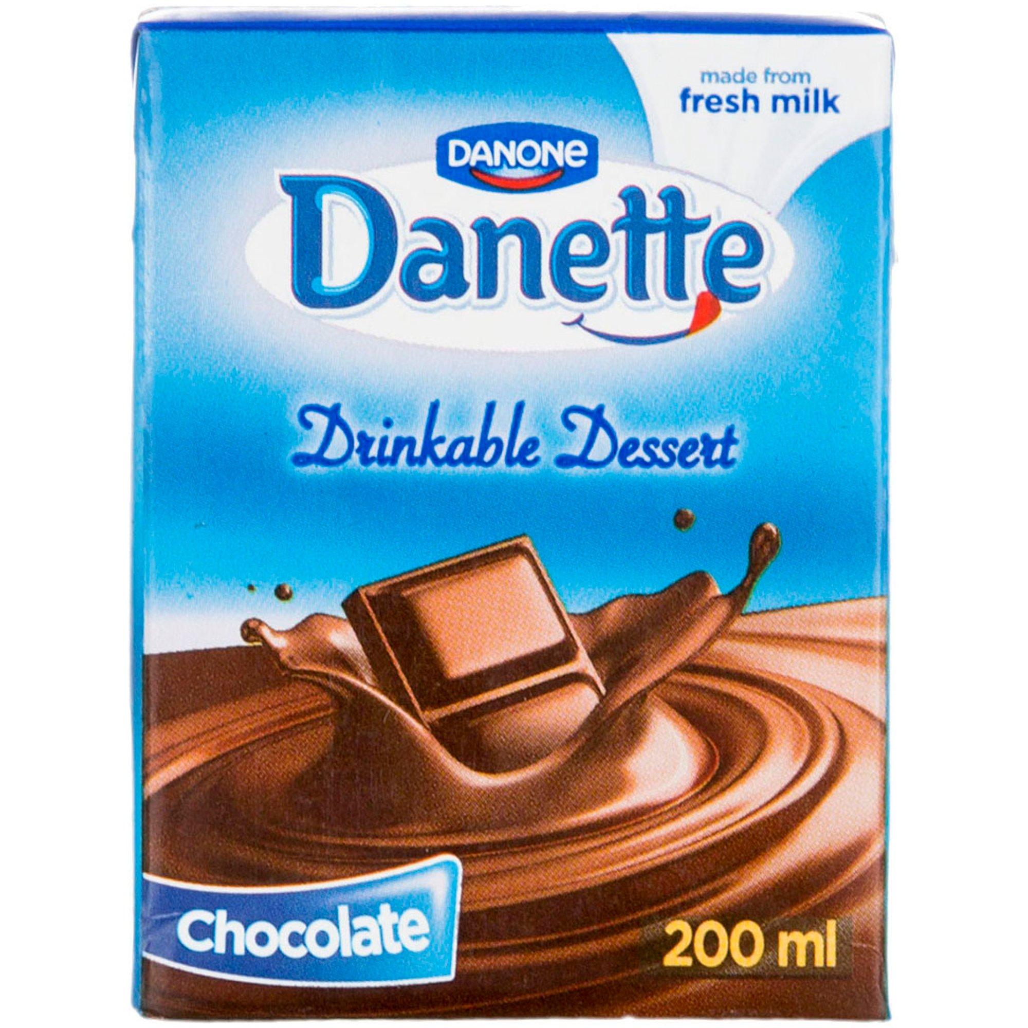 دسر نوشیدنی شکلاتی دنت ۲۰۰ میلی لیتری