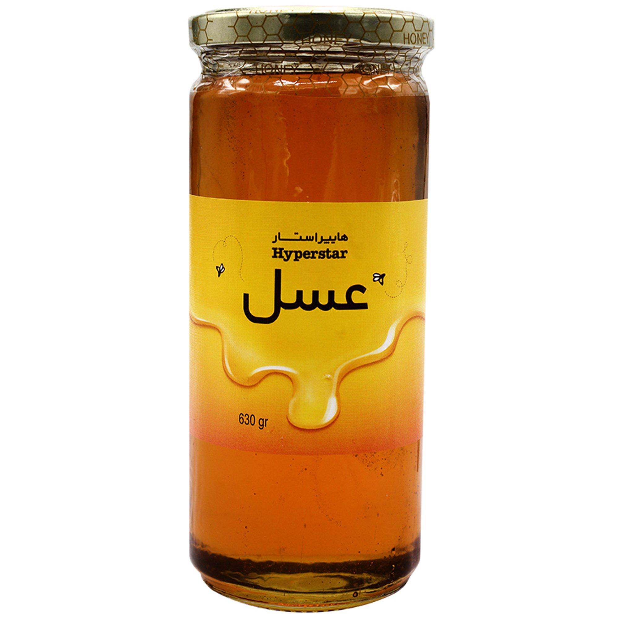 عسل شیشه هایپراستار ۶۳۰ گرمی