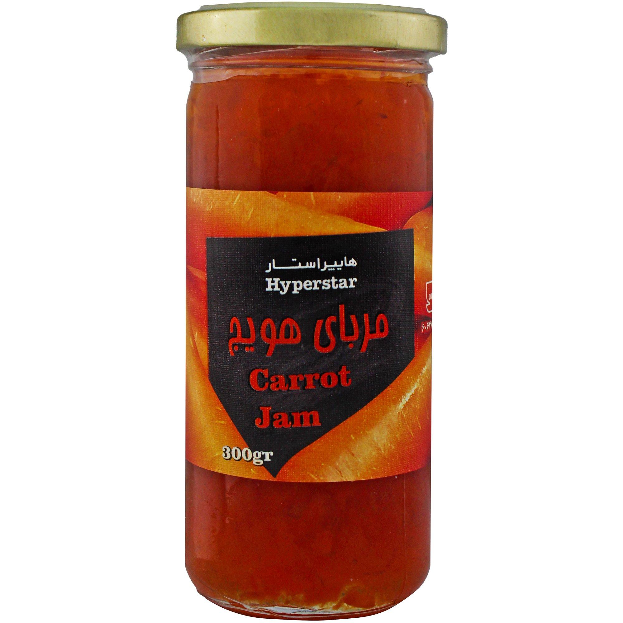 مربا هویج هایپراستار ۳۰۰ گرمی