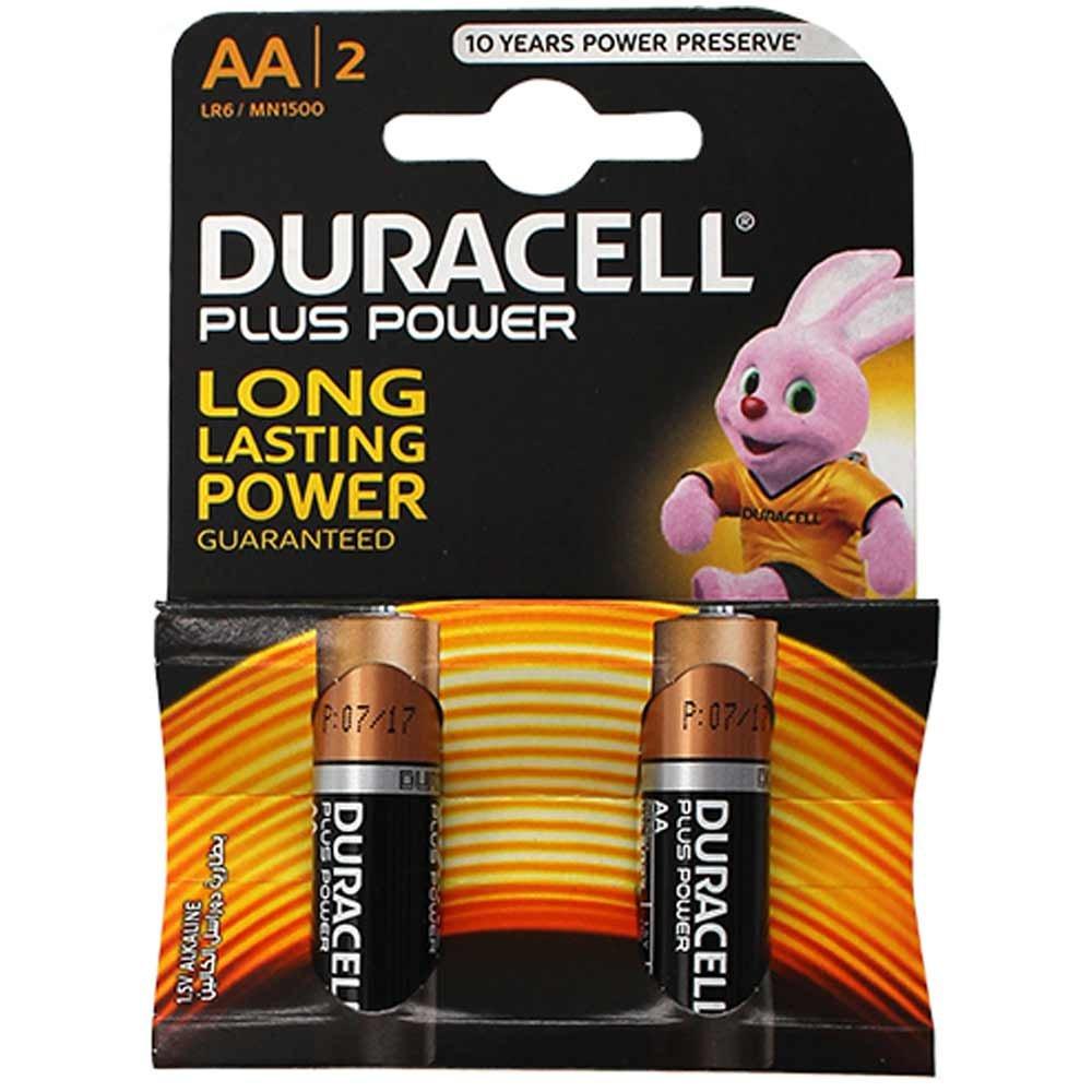 باتری قلمی پلاس دوراسل ۲ عددی