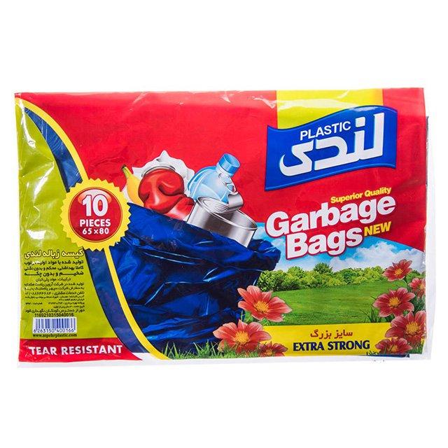 کیسه زباله بزرگ عددی لندی ۱۰ عددی