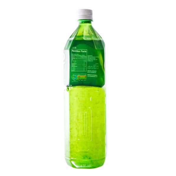 آب آلوئه ورا حاوی تکه های آلوئه ورا پالدو ۱.۵ میلی لیتری