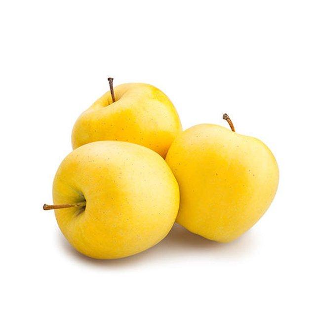 سیب زرد ۱ کیلوگرمی ± ۸۰ گرم (تعداد تقریبی ۵ عدد)