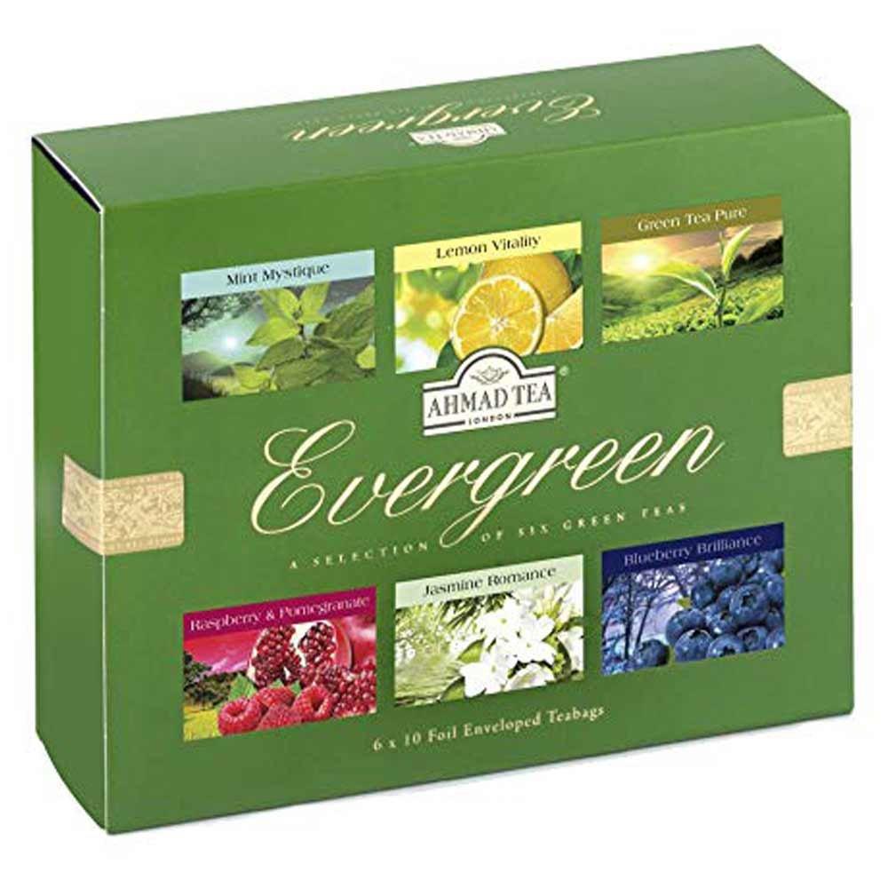 تی بگ چای سبز میوه ای احمد 60 عددی