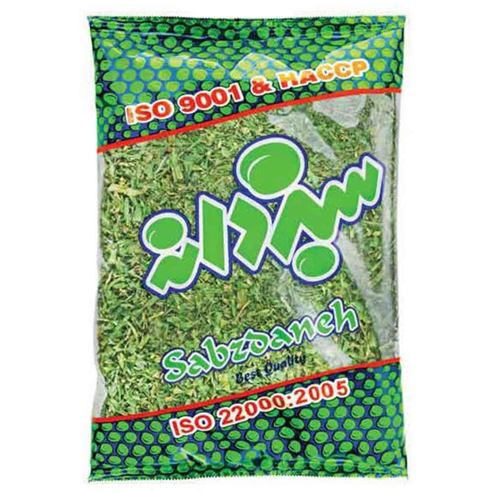سبزی آش خشک شده سبزدانه 70 گرمی