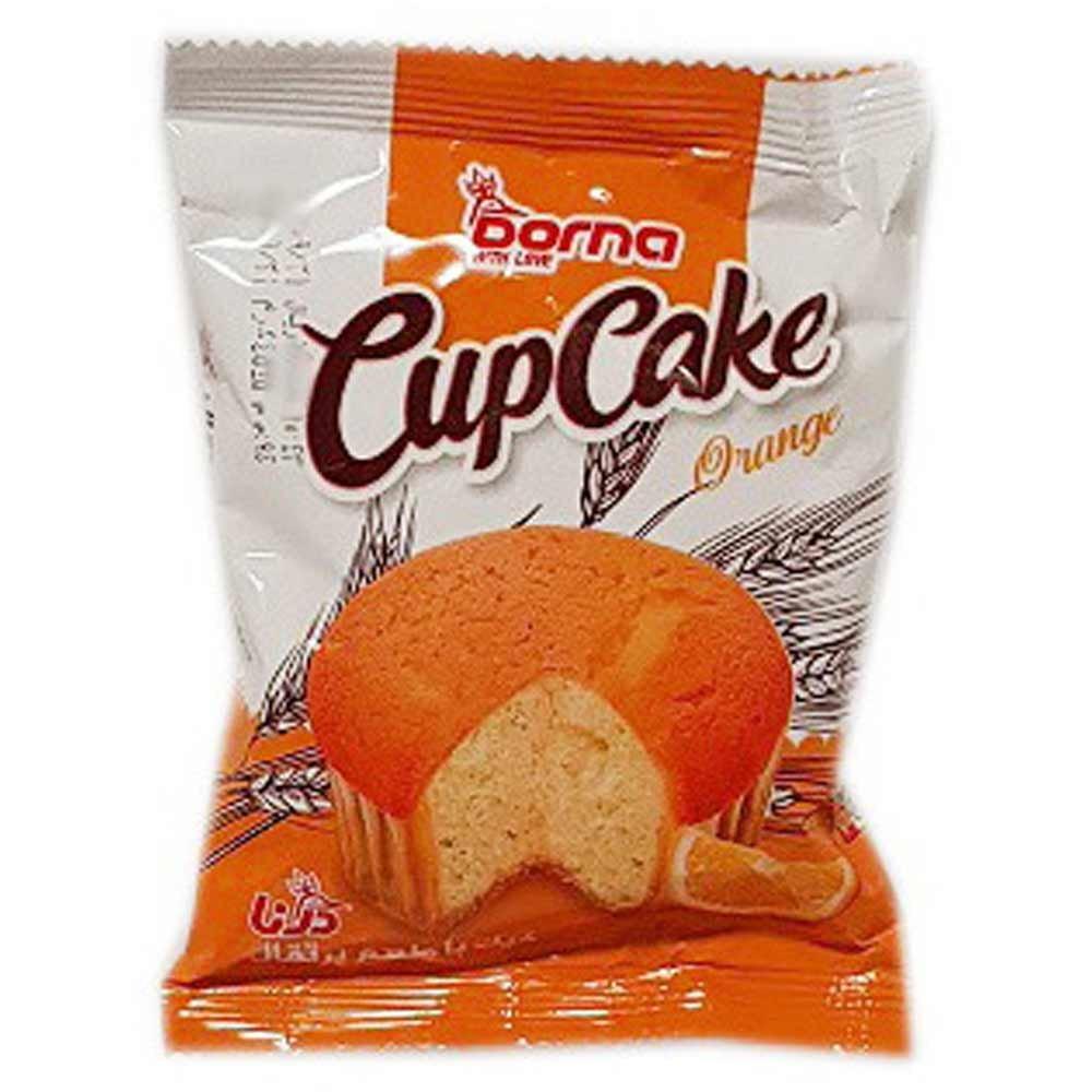 کاپ کیک با طعم پرتقال درنا 45 گرمی