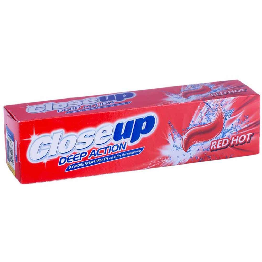 خمیر دندان رد هات ونوس دیپ اکشن کلوزآپ ۱۲۵ گرمی