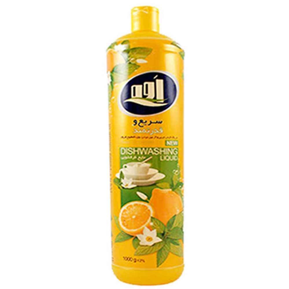 مایع ظرفشویی بارایحه لیمو اوه 1 لیتری