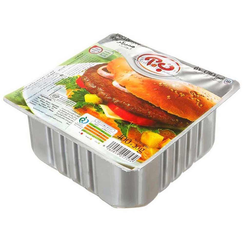 همبرگر ویژه ب.آ ۴۰۰ گرمی