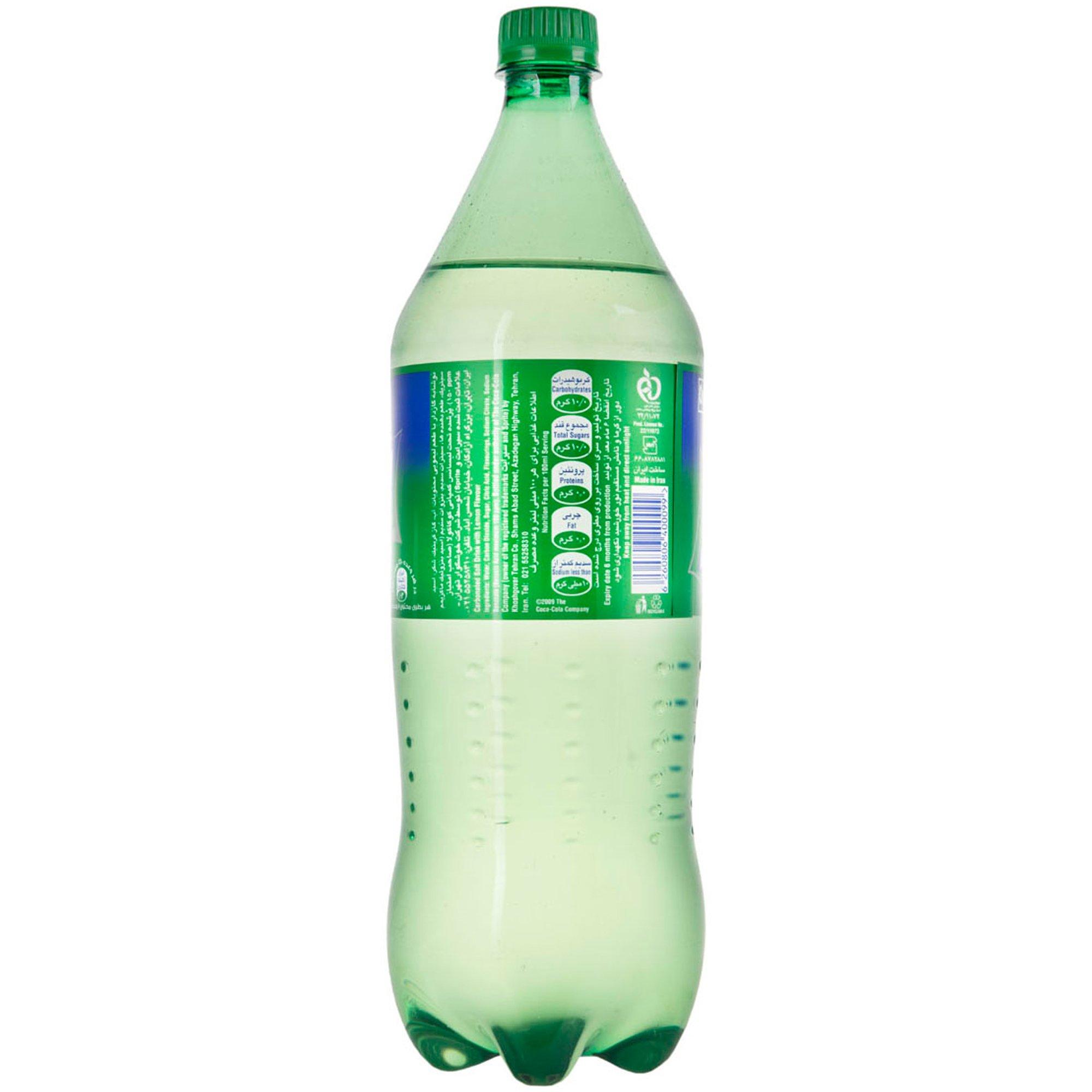 نوشابه گازدار با طعم لیمویی بطری اسپرایت ۱.۵ لیتری