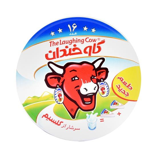 پنیر ۱۶ عددی گاو خندان ۲۴۰ گرمی