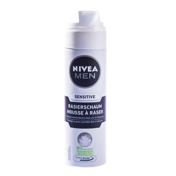 فوم اصلاح مردانه مناسب پوست حساس نیوآ ۲۰۰ میلی لیتری