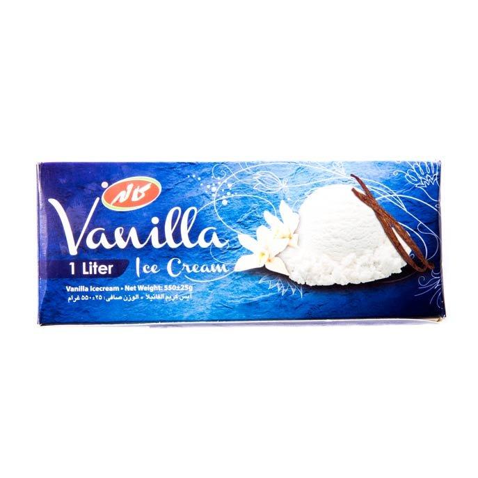 بستنی وانیلی کاله ۱ لیتری