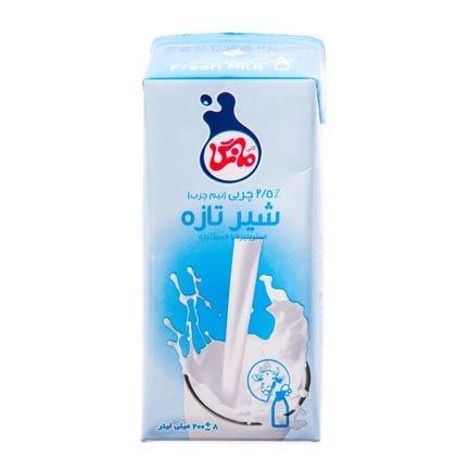 شیر نیم چرب مانگا ۲۰۰ میلی لیتری