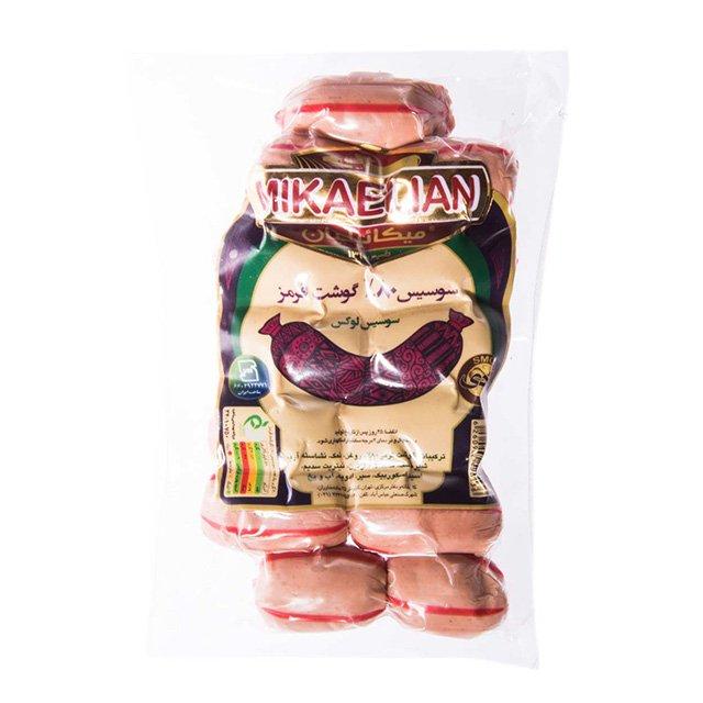 سوسیس لوکس ۸۰% گوشت میکائیلیان ۲۳۰ گرمی