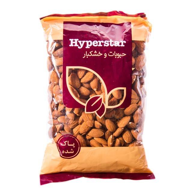 بادام خام هایپراستار ۴۵۰ گرمی