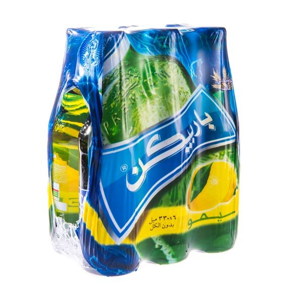 بسته ۶ عددی ماءالشعیر لیمویی باربیکن ۳۳۰ میلی لیتری
