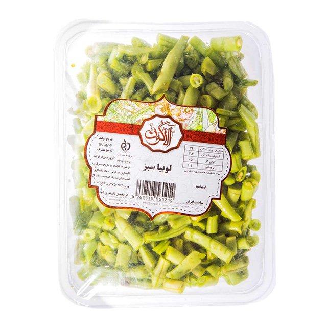 لوبیا سبزخرد شده و تازه آلاگون ۷۵۰ گرمی