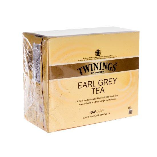 چای سیاه کیسهای ارل گری توینینگز ۵۰ عددی