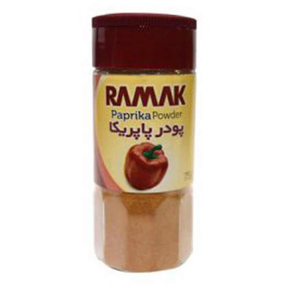 ادویه مخلوط پاپریكا آسیاب شده رامک 75 گرمی