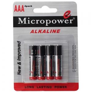 باتری نیم قلمی AAA LR04 میکروپاور