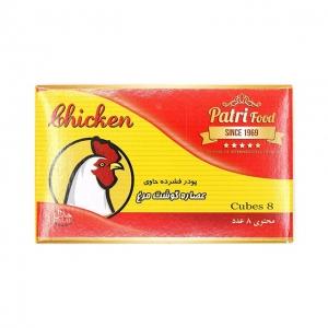 عصاره گوشت مرغ 8 عددی پاتری فود