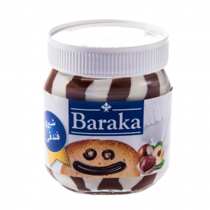 شکلات صبحانه شیری فندقی باراکا ۳۳۰ گرمی